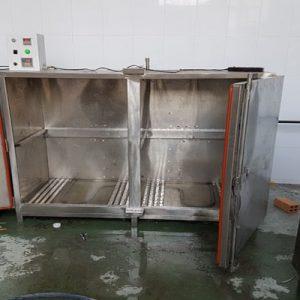 tủ hấp cá công nghiệp