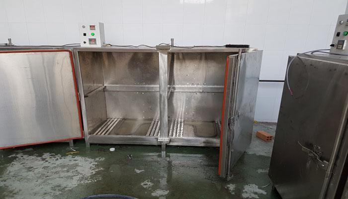 tủ hấp cá công nghiệp dùng điện