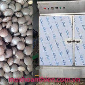 Tủ sấy nấm linh chi cao cấp inox 304